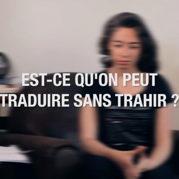 Traduire Roméo & Juliette, entretien avec Charlotte Costes-Debure.